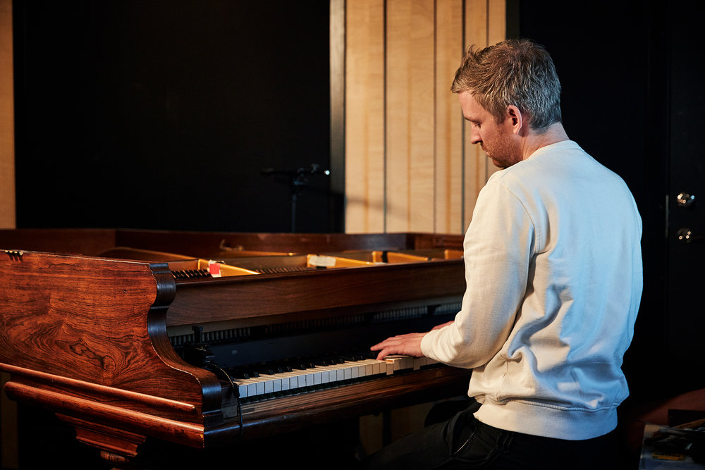 Olafur Arnalds Chamber Evolutions Spitfire Audio | Lee Kirby Photography Portrait Photographer London U.K