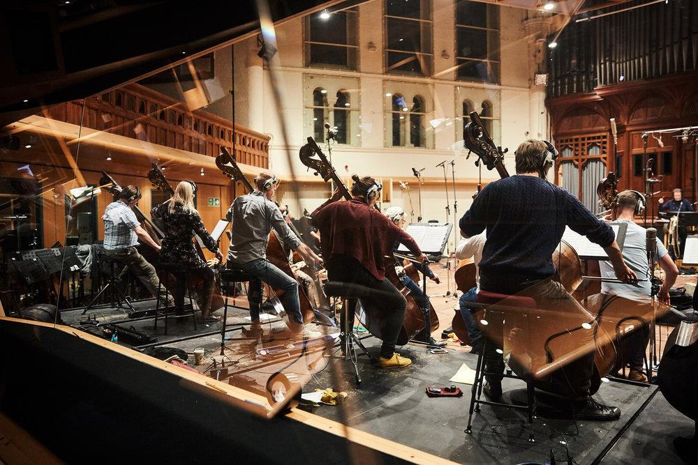 Hans Zimmer Strings Recording   Air Studios