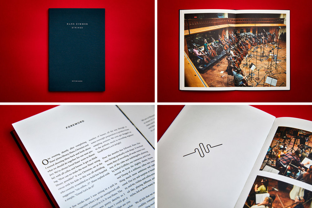 Hans Zimmer Strings Photo Book