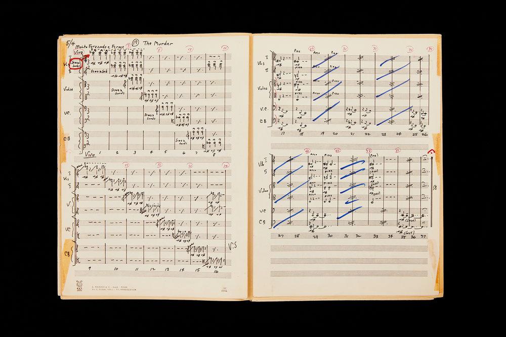 Psycho Original Score Bernard Herrmann Estate  8 Images