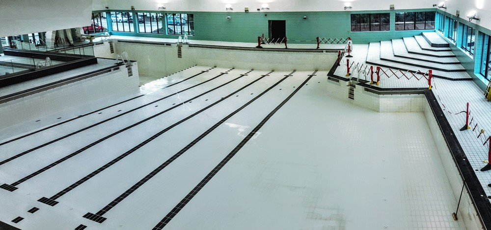 Swimming pool in Kent - ready for a Poolview Safer Swimming System