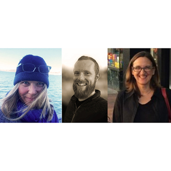 Left to right: Laurie Macfee, Ryan Walsh, Allison Mindel