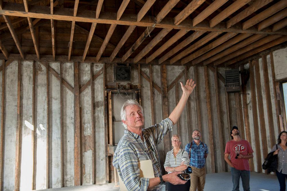 Designer and  philanthropic partner Milford Cushman ( Cushman Design Group ) shares his vision for preserving and restoring Church Studios
