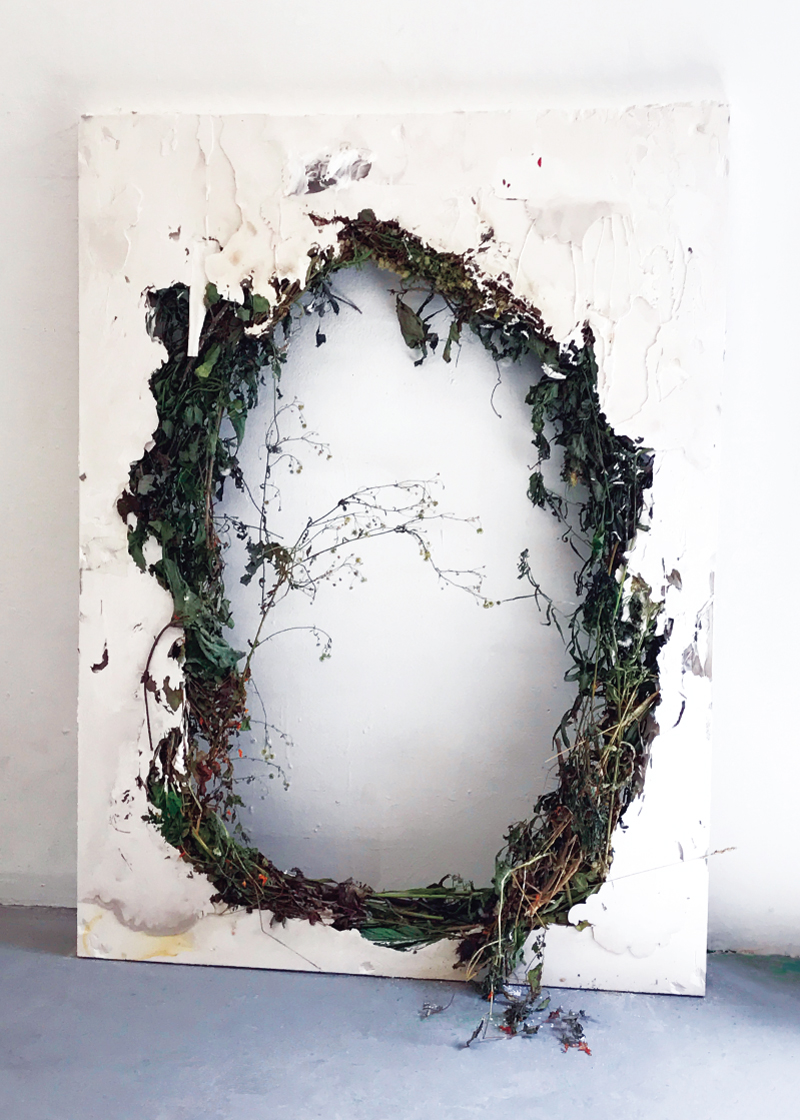 Image: Untitled (Wreath), © Jack Henry, 2017.