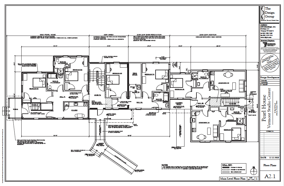 View the blueprints for the Pearl House restoration plan (PDF)