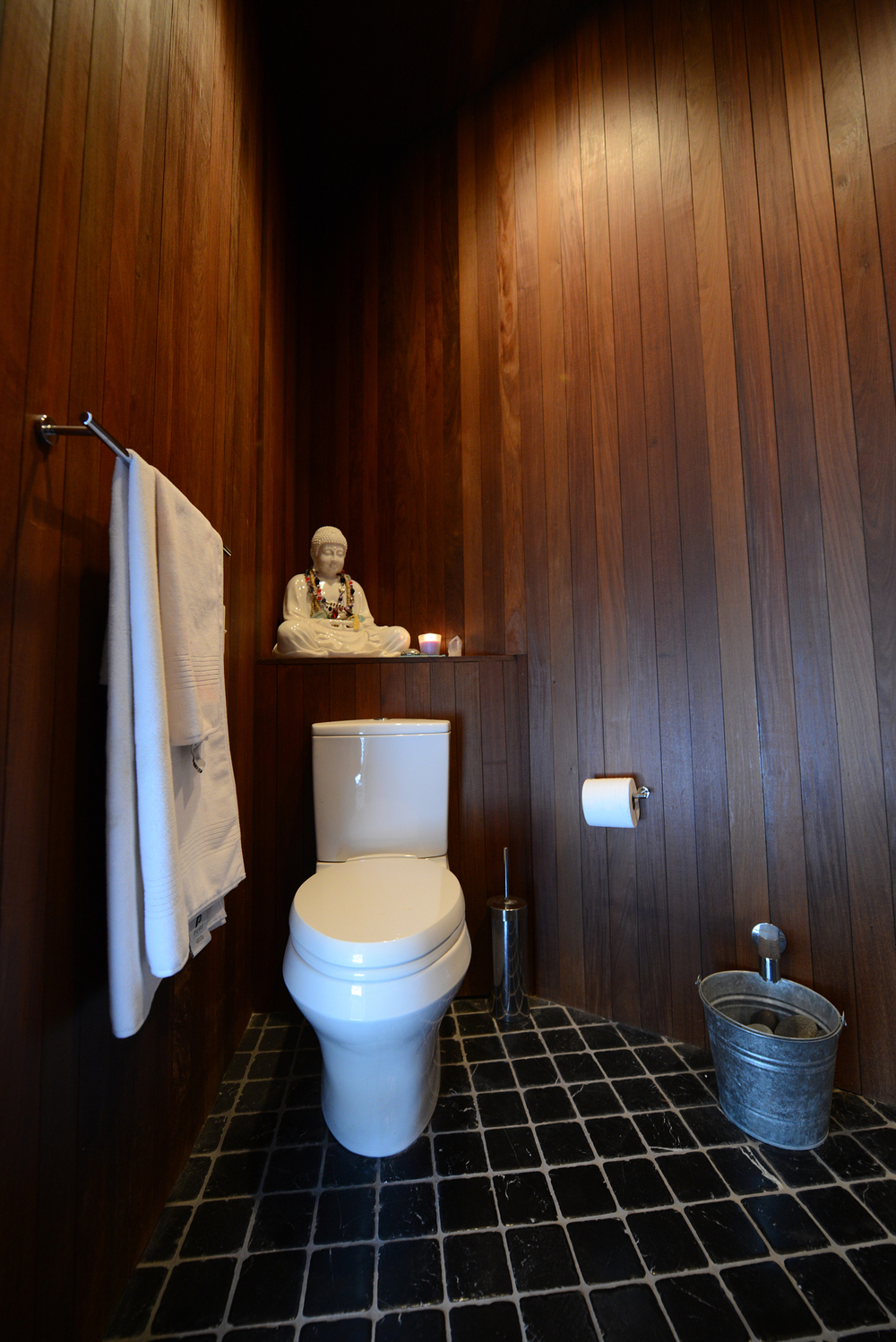 Modern Buddhist Bathroom