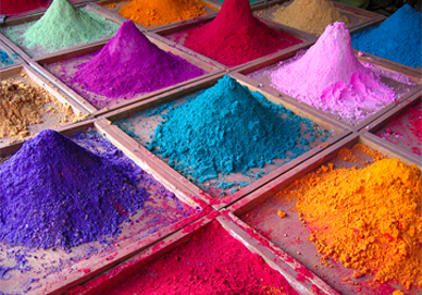 "Image Source: Wikimedia Commons |  Dan Brady  | ""Indian Pigments""  (cc 2.0)"