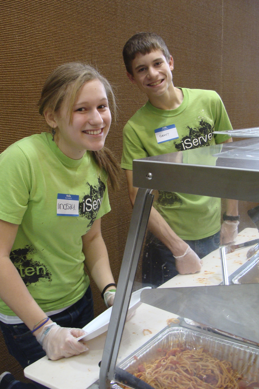 Students can volunteer weekly and serve the church in our Kitchen Ministry.