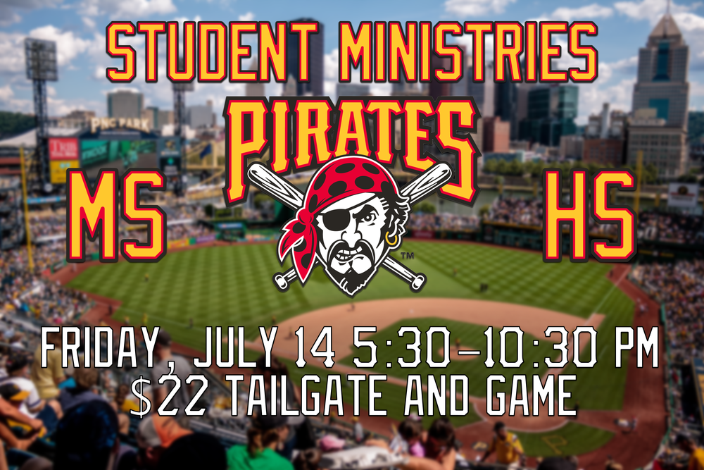 What a great night for baseball? Bring you and a friend to the tailgate at ACAC. After , walk with us to watch the Pirates as they play the St. Louis Cardinals. Don't miss out on the food and fun!!! You can sign up, pay or do both below  Cost: $22