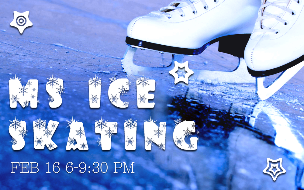 Come Ice Skate with us! We will eat pizza for dinner and drive to Schenley park to ice skate from 6:00-9:30pm. Price includes pizza and skate rental. Don't forget to invite a friend or 7! Sign up online for a great time.  Cost: $6