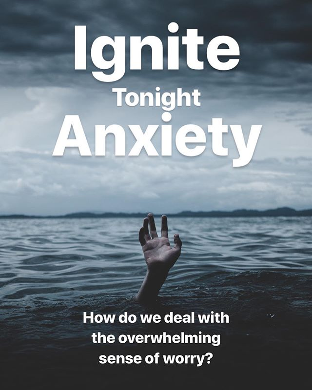 High Schoolers, tonight (6:30-8:30) at Ignite we are talking about Anxiety. We all struggle to one degree or another. Let's come together tonight to care for one another, to be cared for, and to remember that there is hope in Christ.