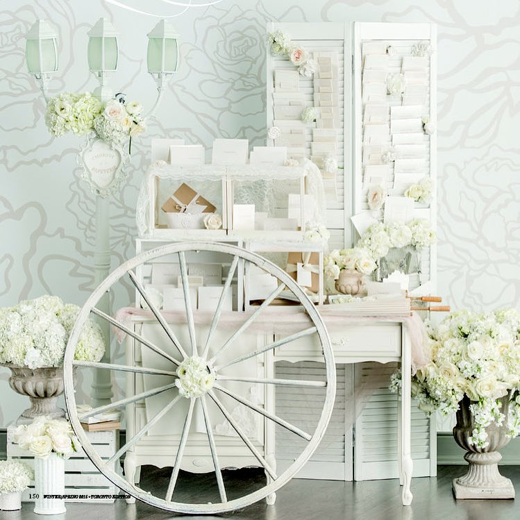 Anista Designs stationery cart
