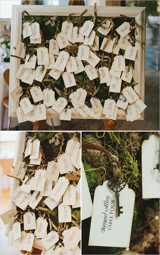 Escort Cards by Anista Designs