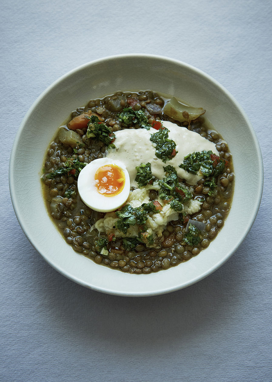 FT Magazine Honey & Co. Lentil Stew Patricia Niven