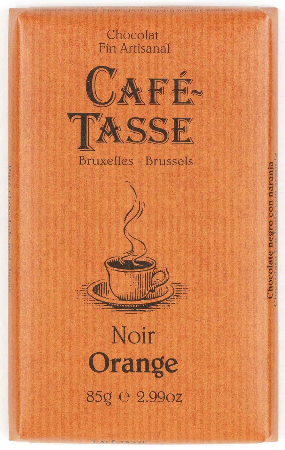 NOIR & ORANGE / DARK & ORANGE TABLETTES / BARS 57% 85G
