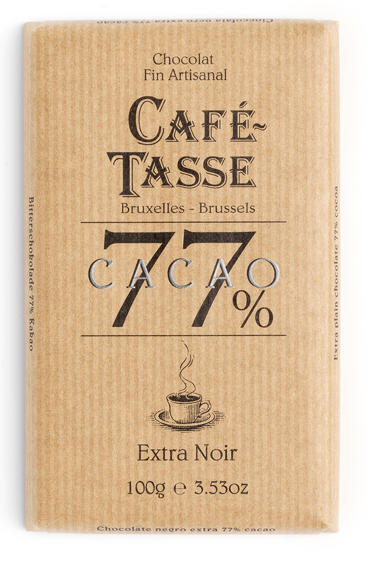 EXTRA NOIR / EXTRA DARK TABLETTES / BARS 77% 100G