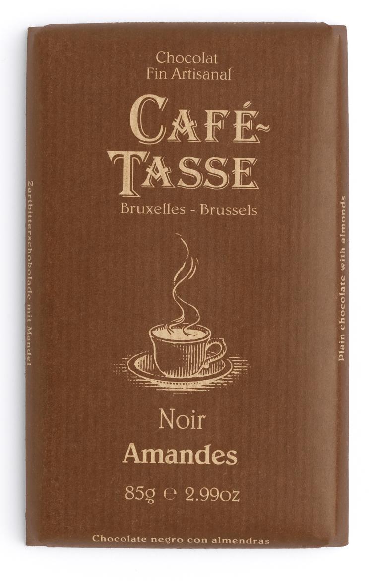 NOIR & AMANDES / DARK & ALMONDS TABLETTES / BARS 57% 85G