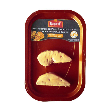IQF Duck Foie Gras Slices