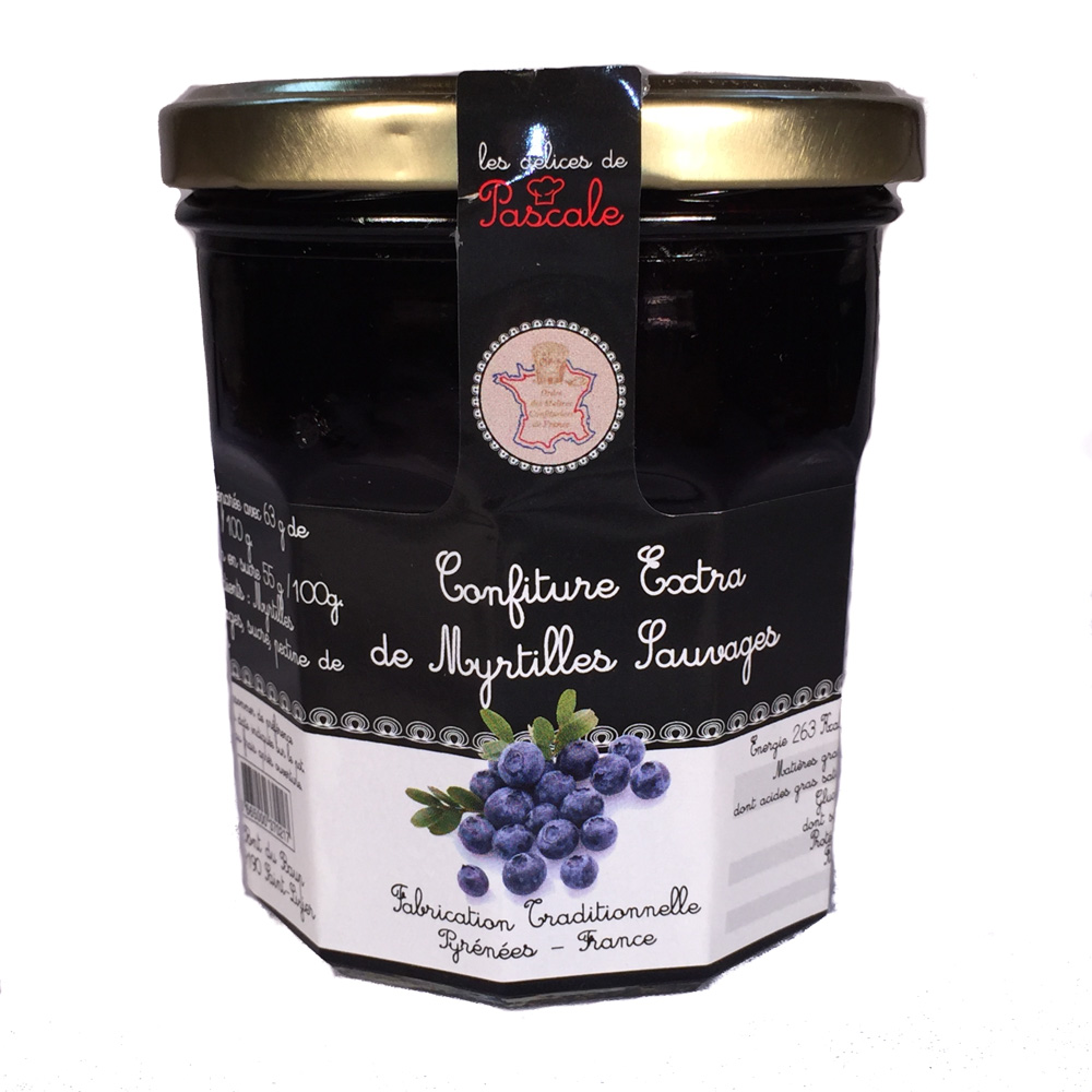 Wild Blueberry Confiture-Preserves