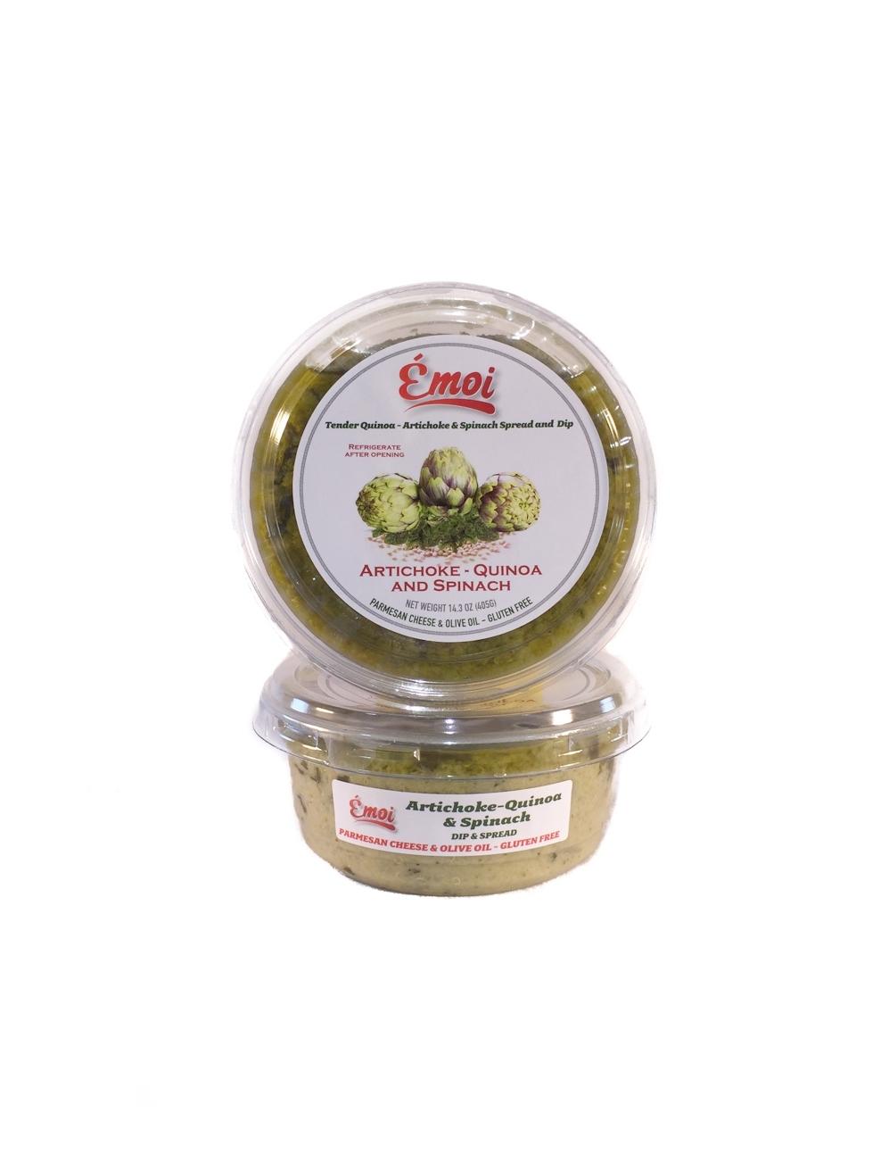 Tender Quinoa - Artichoke & Spinach Spread & Dip