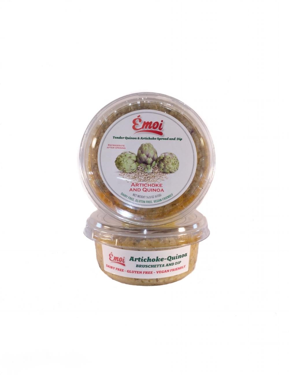 Artichoke & Quinoa Dip and Spread