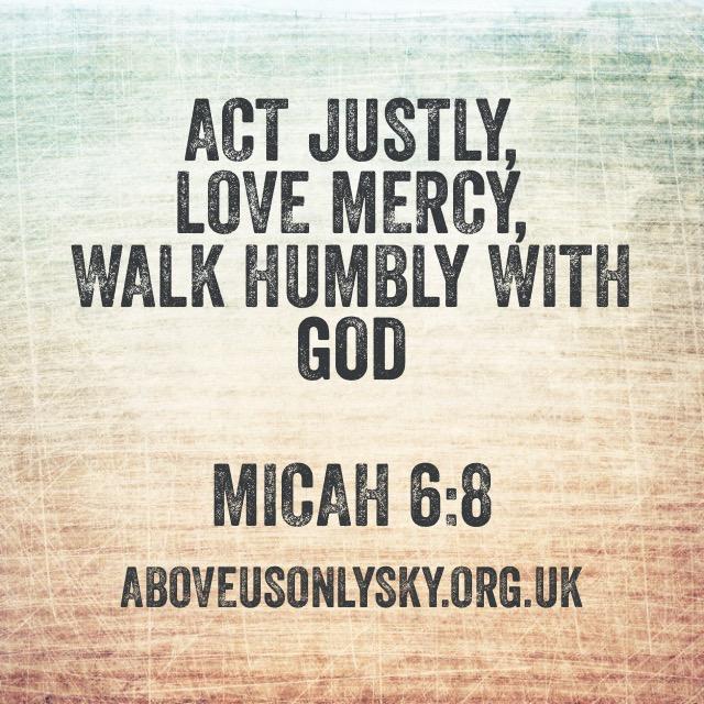 Micah 6.8
