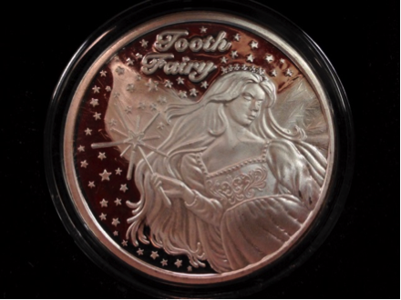 Tooth Fairy Coin.