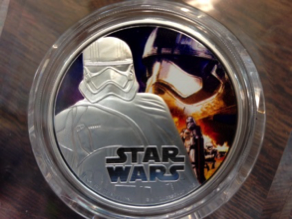 Star Wars Storm Trooper Coin.