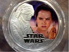Star Wars Coin.