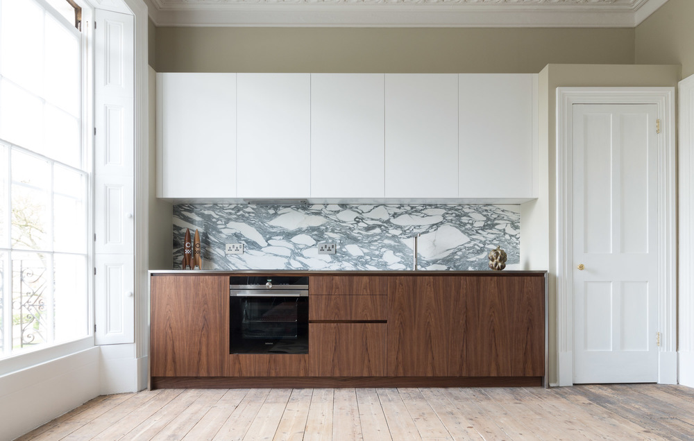 Cheltenham bespoke kitchen american black walnut powell picano