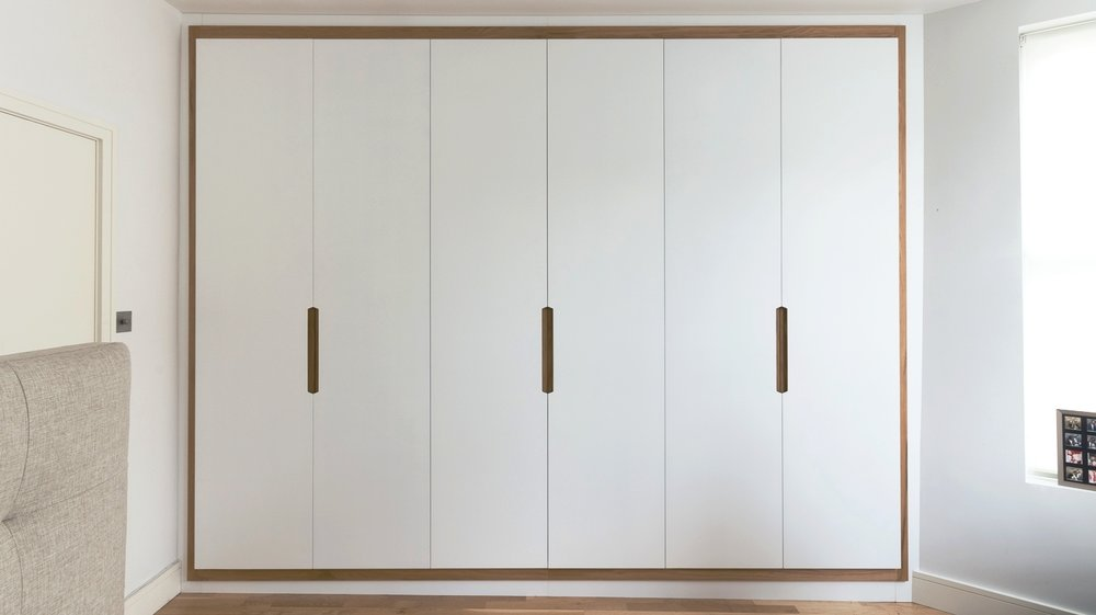 Copy of Langham rd bespoke fitted wardrobes with solid oak frame powell picano