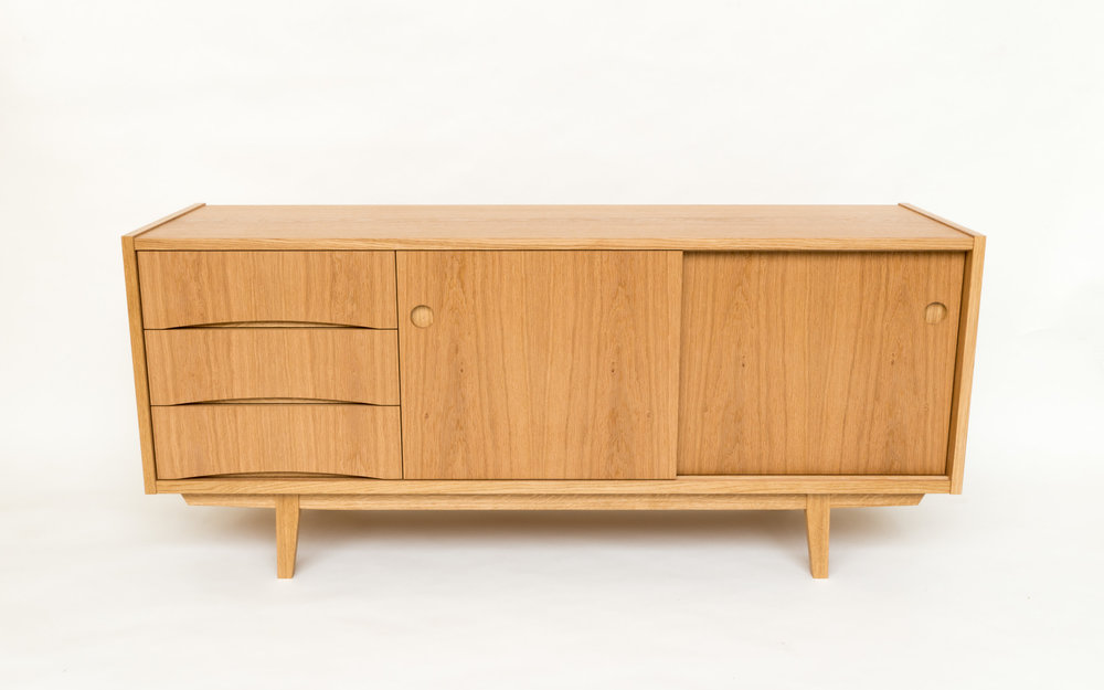 Custom bespoke furniture - Swedish sideboard midcentury style