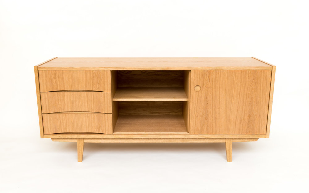 Bespoke furniture - Swedish sideboard dovetailed drawers