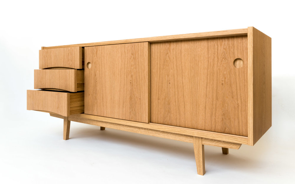 Copy of Custom furniture - Swedish sideboard dovetailed drawers