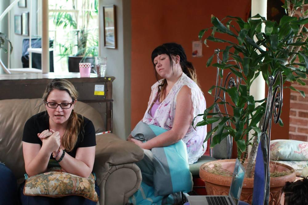 Brandy Walker (left), photo by Jennifer Upton