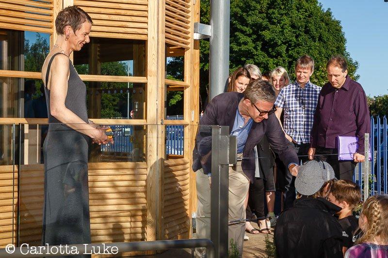 Martin Freeman greets fans at Depot opening
