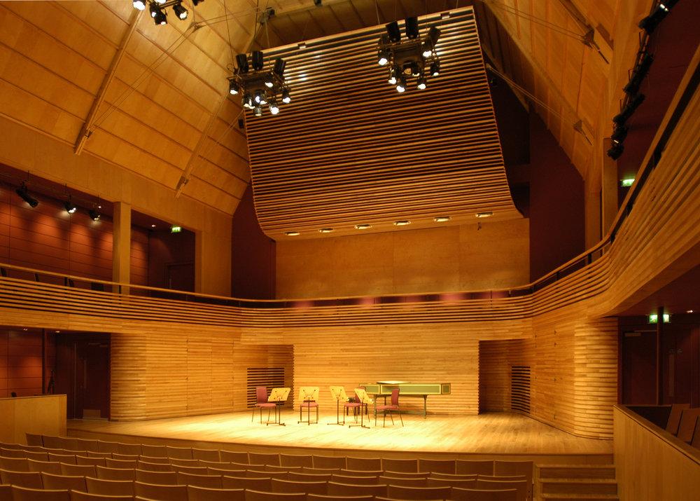 The Menuhin Hall, Yehudi Menuhin School