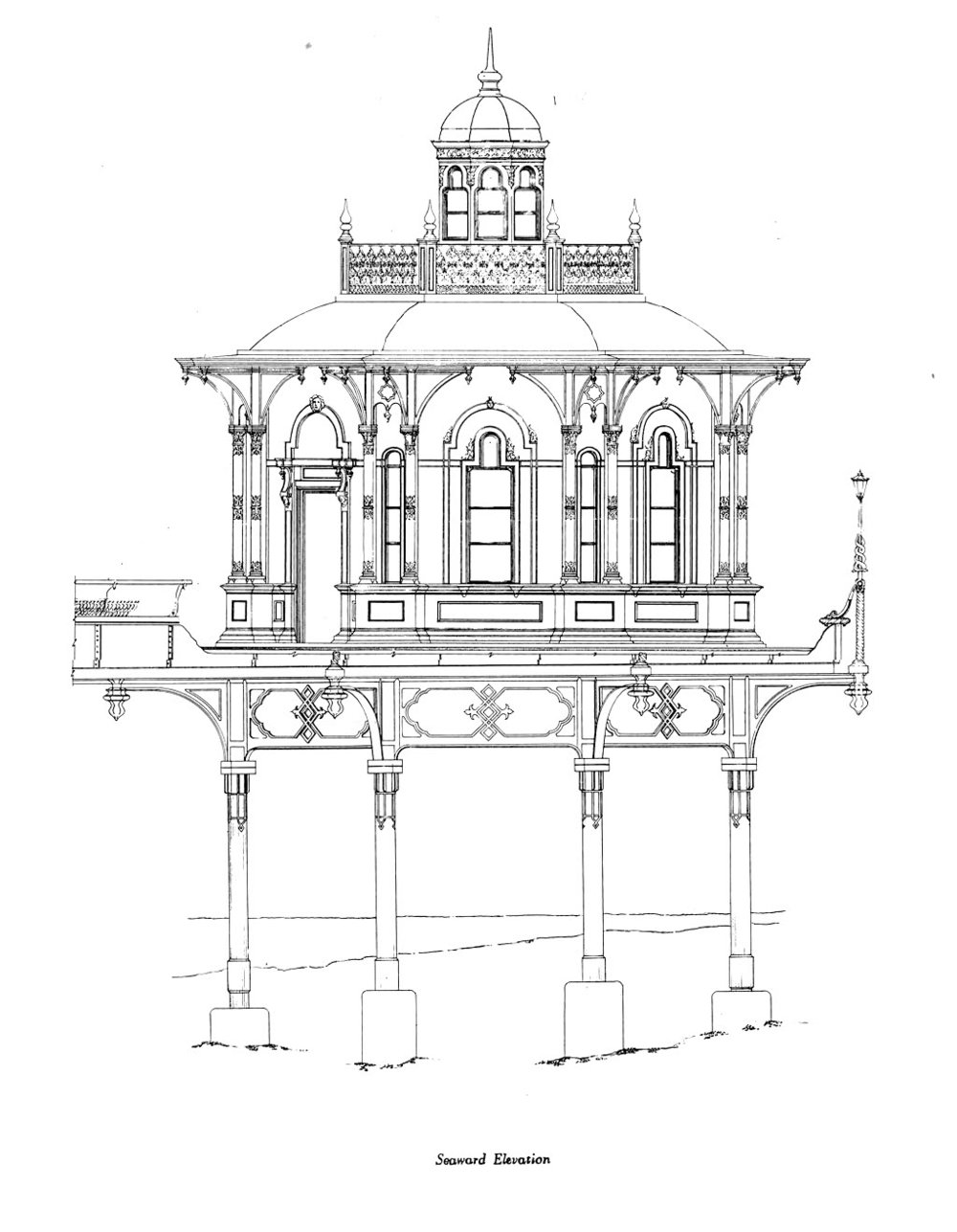 Proposed East Elevation, courtesy John Burrell