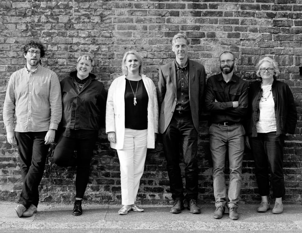 From left: Ian, Faye, Helen C, Geoff, Ben and Helen G.