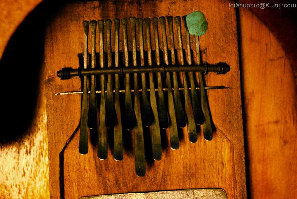 My instrument; Mbira