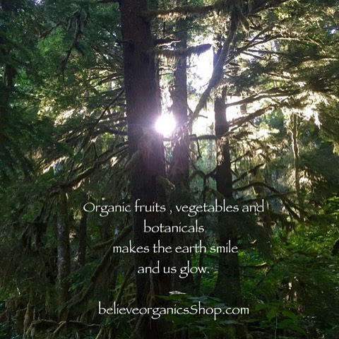 Enjoy the restorative and healing power of nature. believeorganicsShop.com  good for you good for your family good for the earth