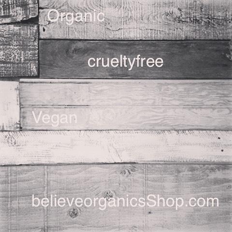 Organic  Cruelty free  Vegan  Skincare  believeorganicsShop.com