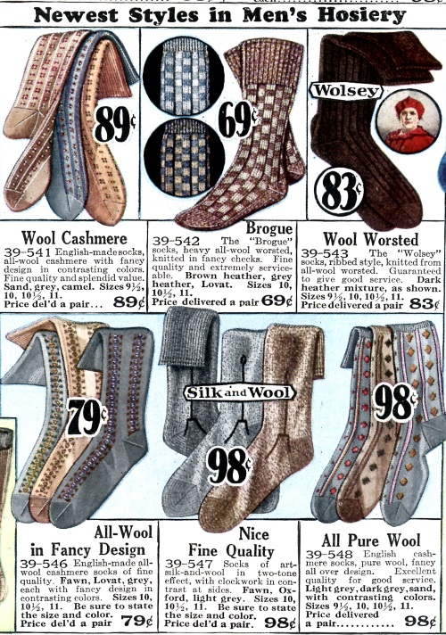 Remember when quality socks were this cheap ? No ? Me either this was in 1928
