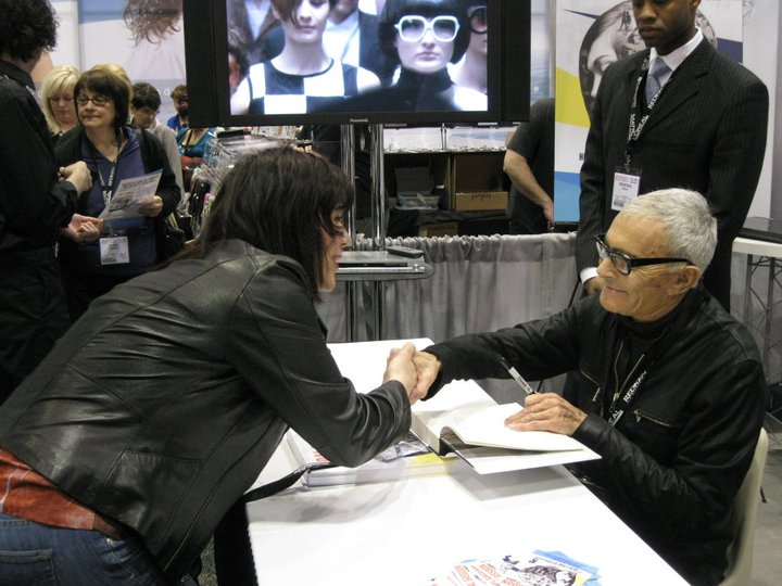 Meeting the man that changed the world of hairdressing. Chicago, 2011.