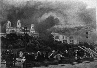 Columbian Exposition White City Fire