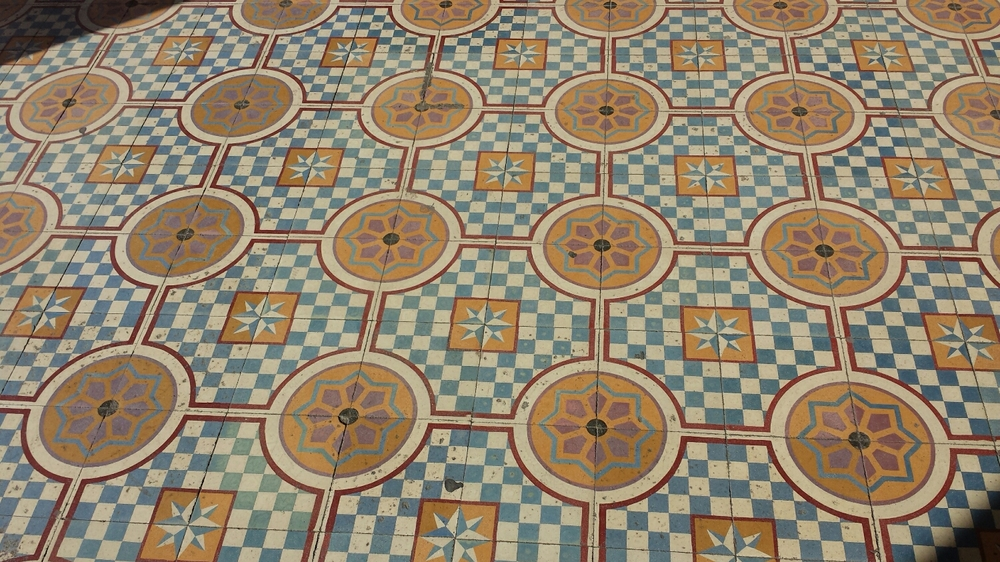 classic tile style