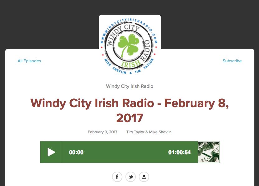 Actors Jaimelyn Gray and John Wehrman interview with Windy City Irish Radio to discuss The Beauty Queen of Leenane. More about Windy City Irish Radio at windycityirishradio.com.