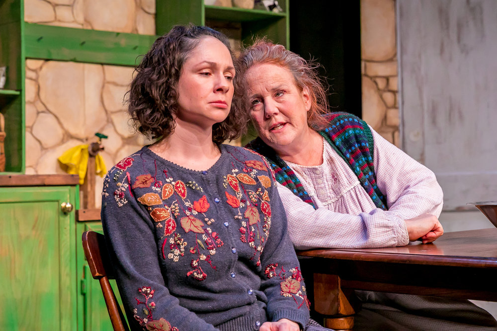 The Beauty Queen of Leenane Production Photos. Credit: Dave Markowski, DavdGreat Photography