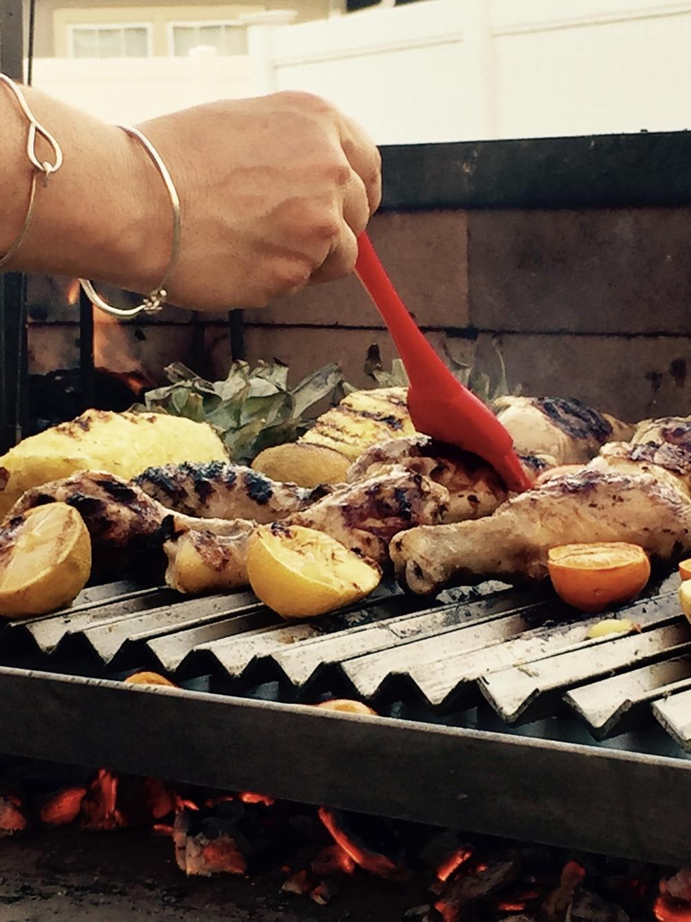 Asado Grilling