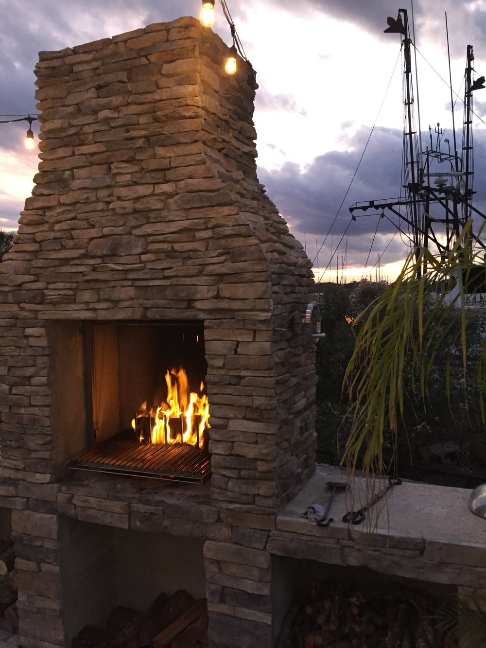 Argentine Fireplace Grills